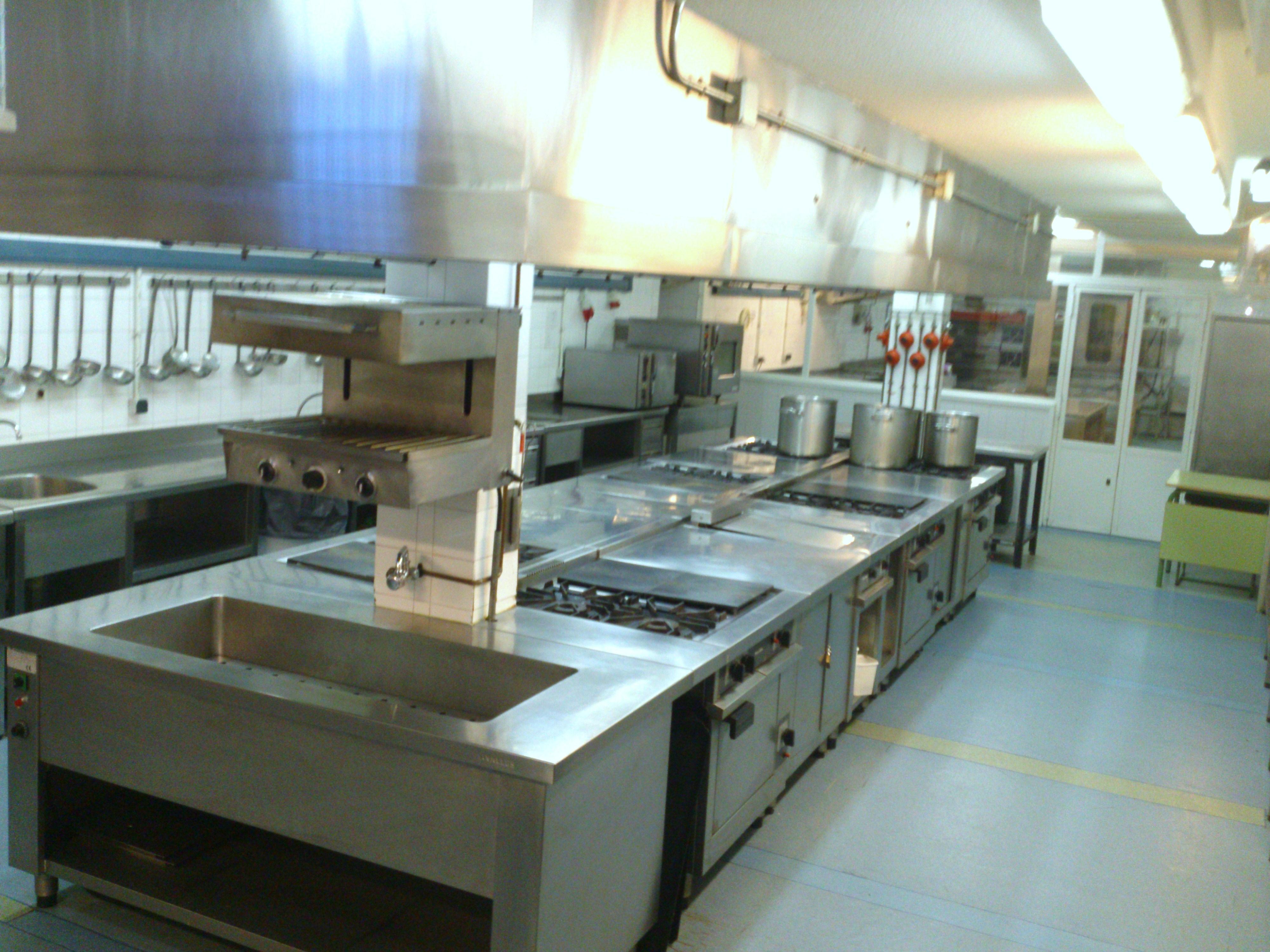 Cocina de 1 hotel escuela de la comunidad de madrid for Cuarto frio cocina